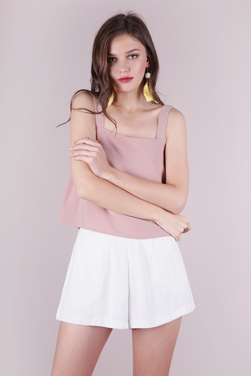 Uptown Pencil Skirt | Nude Pink