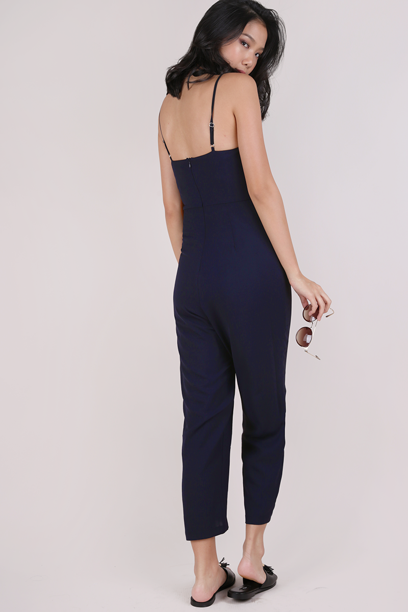 1524e5f7a387 Adelia Jumpsuit (Navy)
