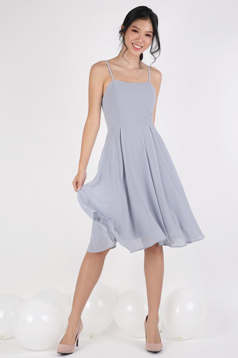 Batch 1- Odette Spag Midi Dress (Dove Grey)  616c56b6065