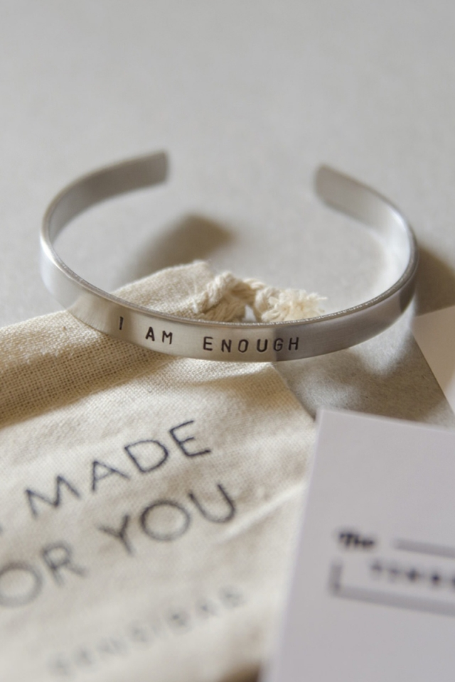 """I AM ENOUGH"" Bangle"