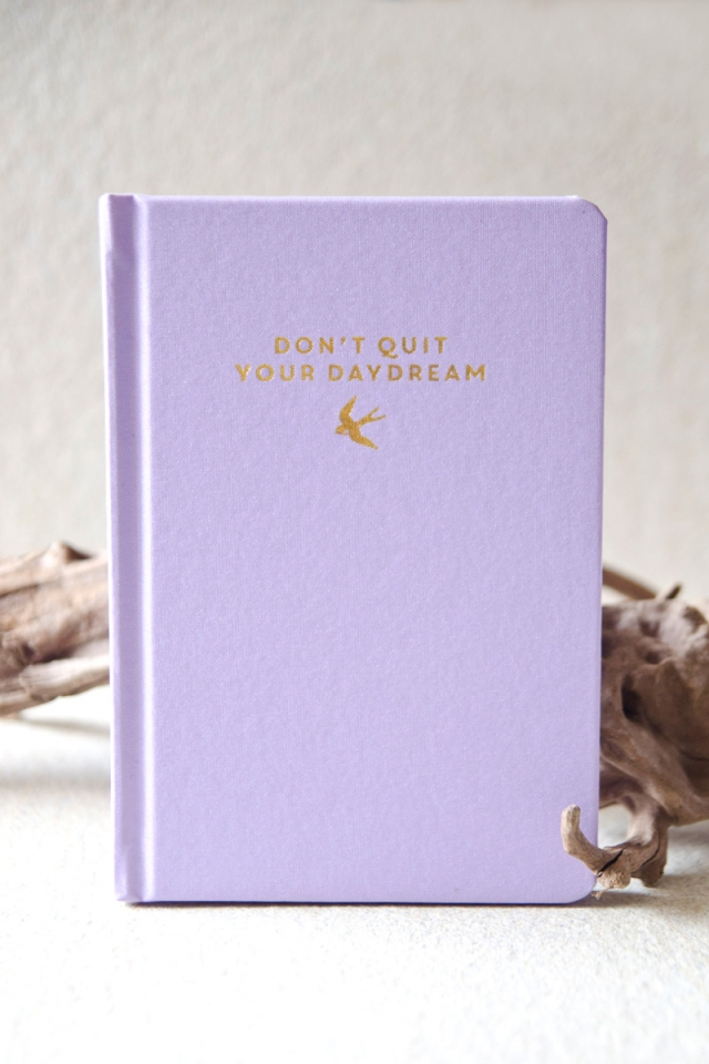 Fabric Notebook (Lilac)