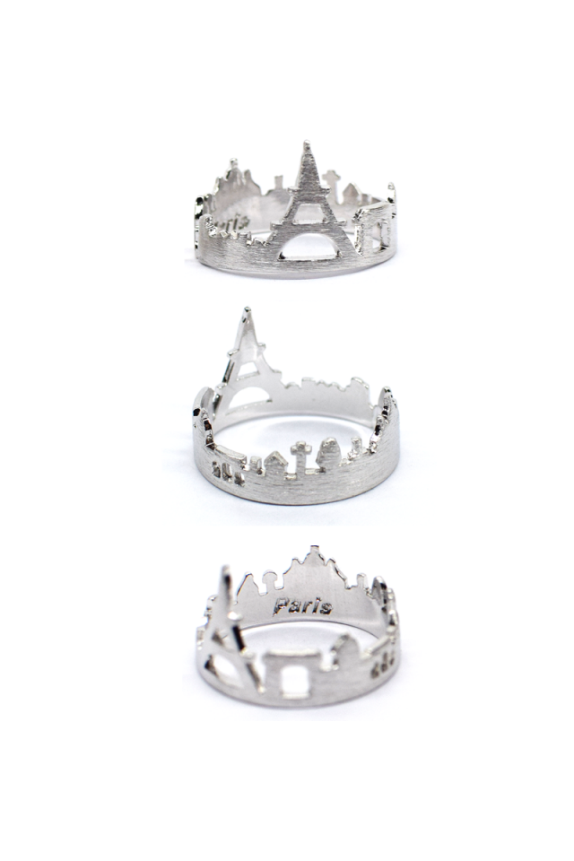 PARIS  Cityscape Ring (Silver)