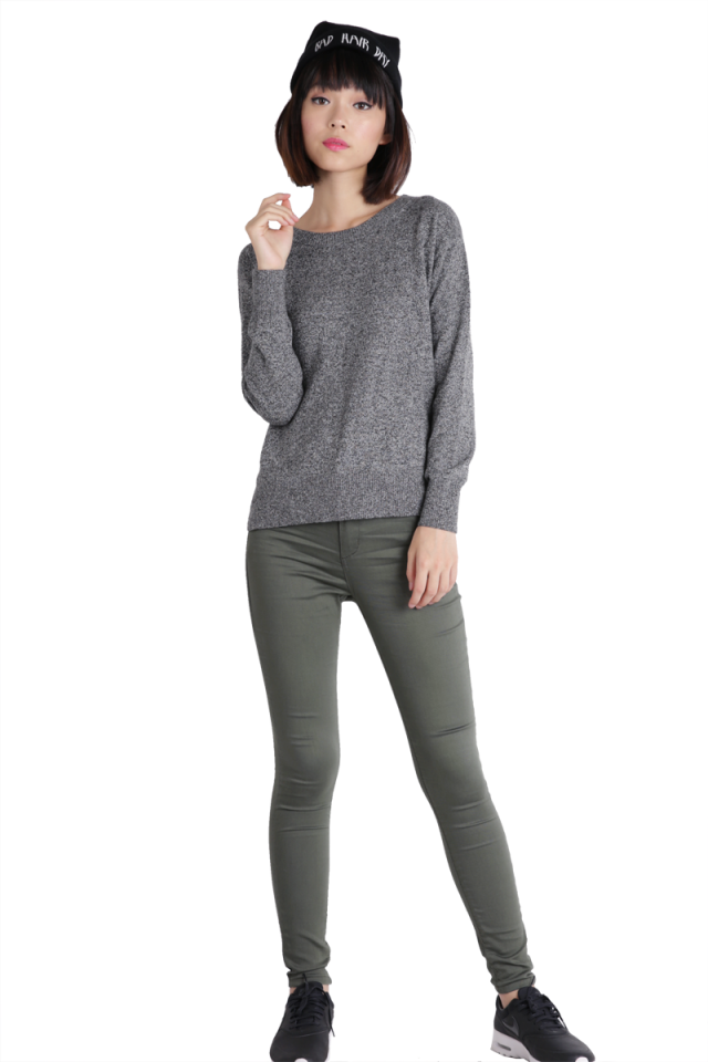Perfect Fit Skinnies (Olive)