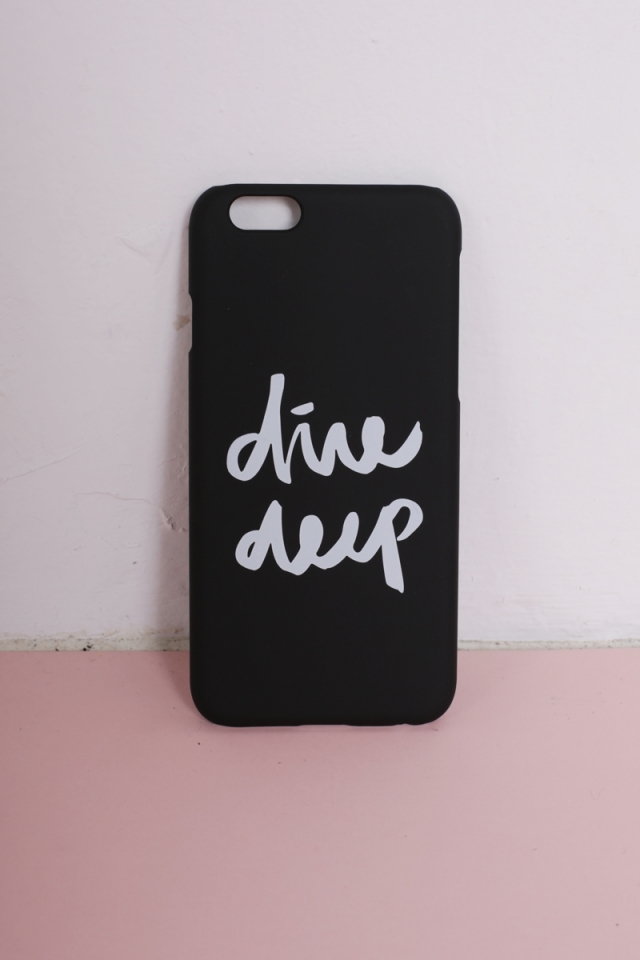 Dive Deep Phone Cover