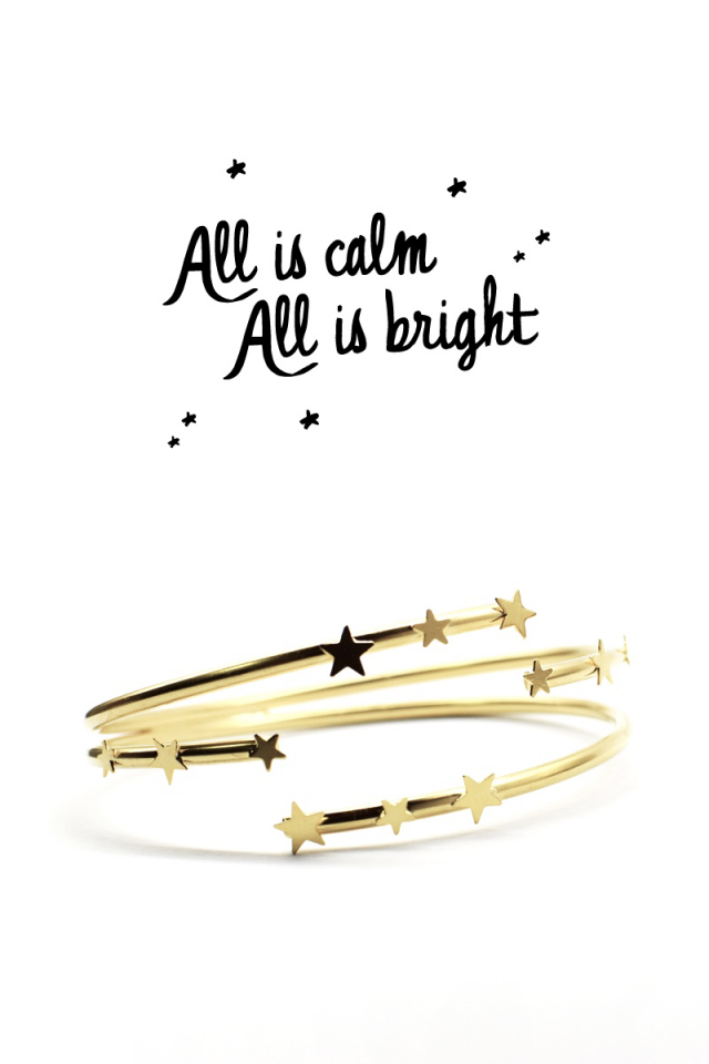 Star Cuff Bracelet