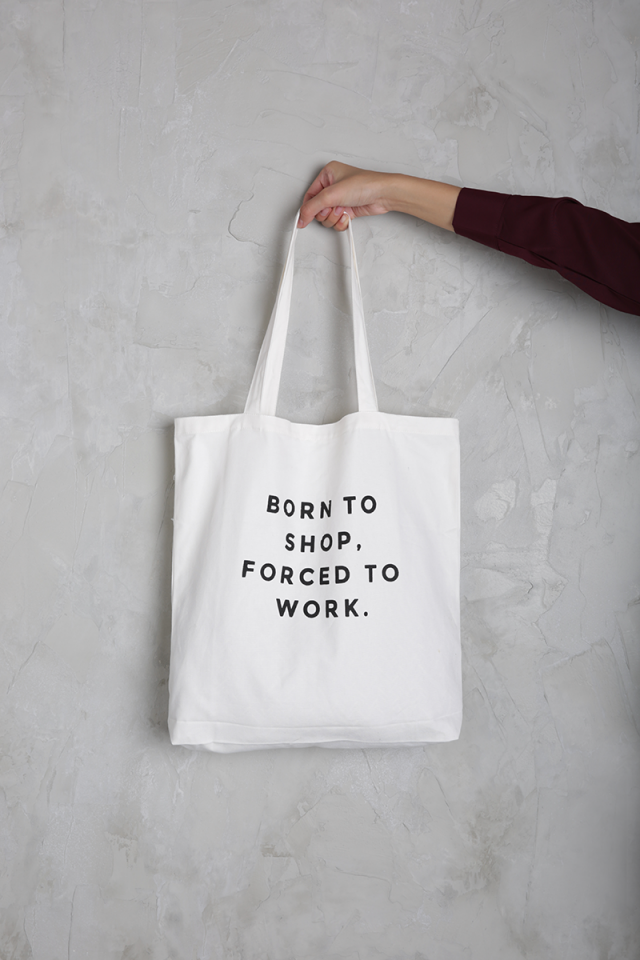 Born To Shop Tote