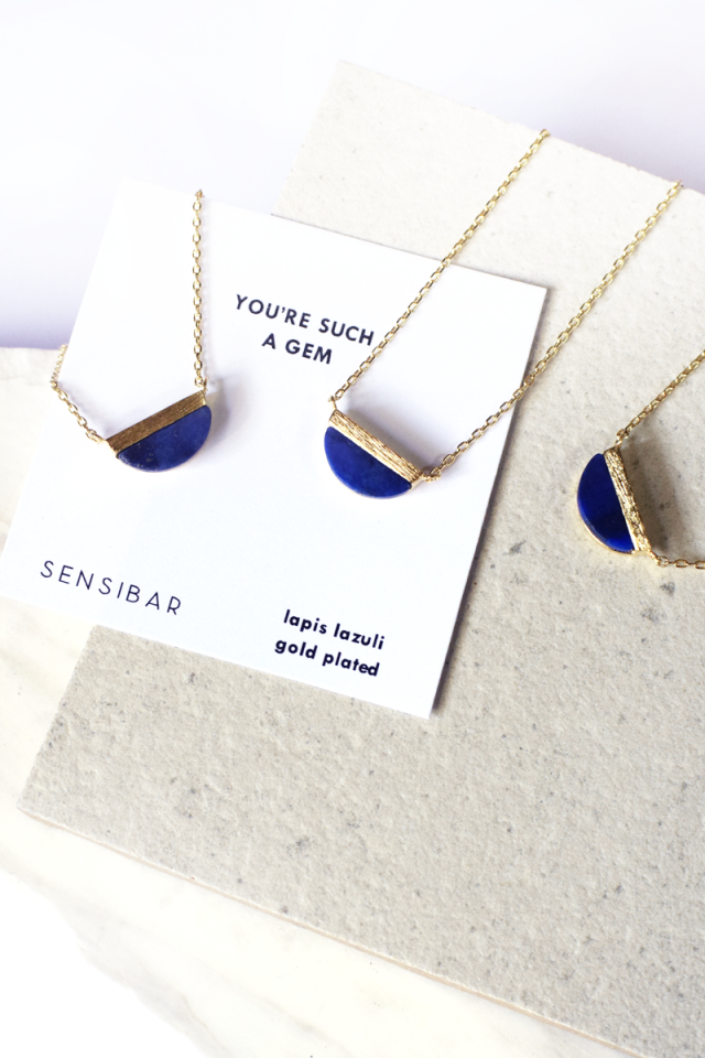 You're such a gem - Necklace (Lapis Lazuli)