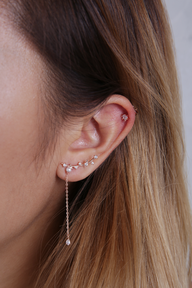 Sies Ear Crawler (Rose Gold)