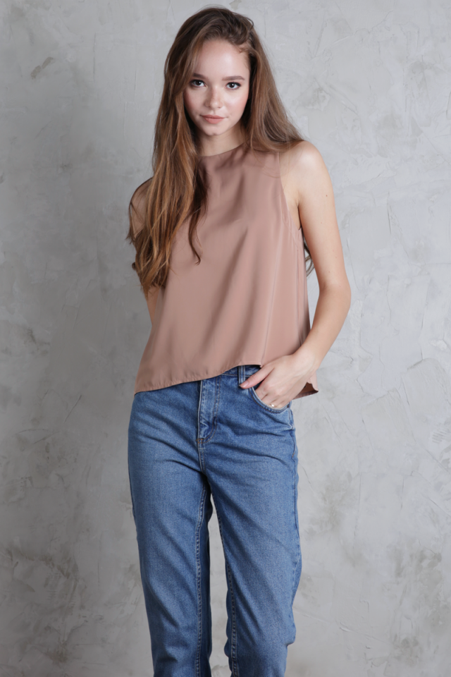 Blanc Swing Top (Desert Taupe)