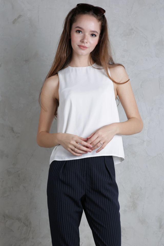 Blanc Swing Top (White)