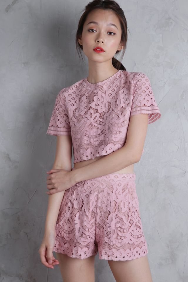 Camilla Boxy Top (Blush Pink)