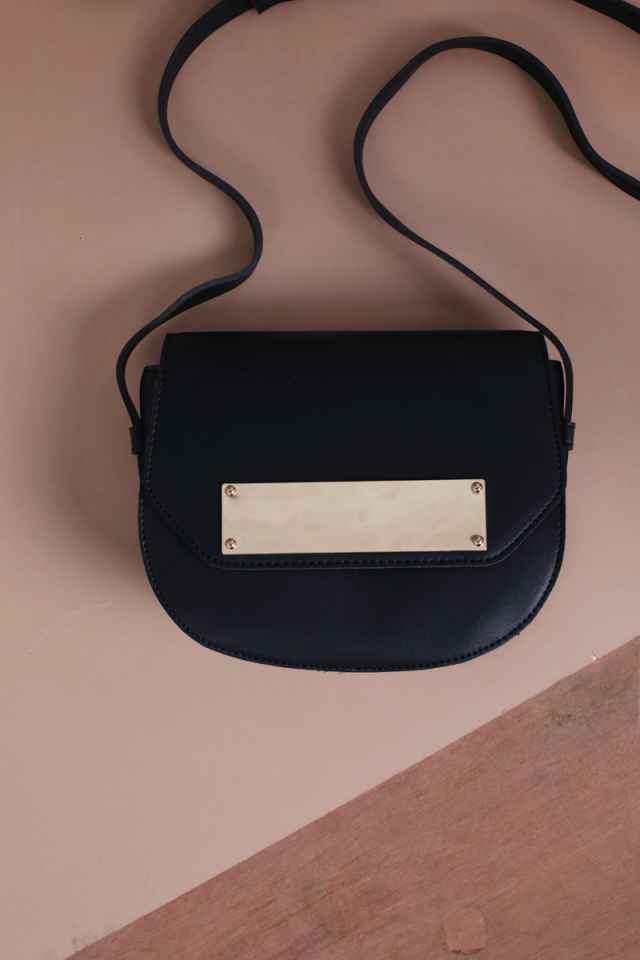 Hayden Crossbody Bag (Black)