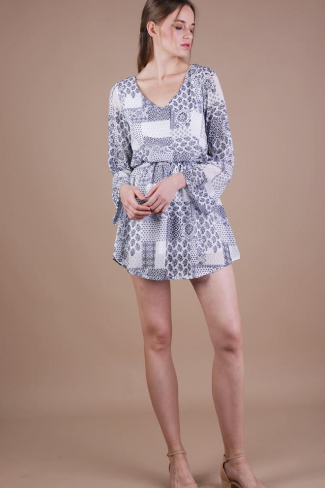 Tams Resort Dress (White)