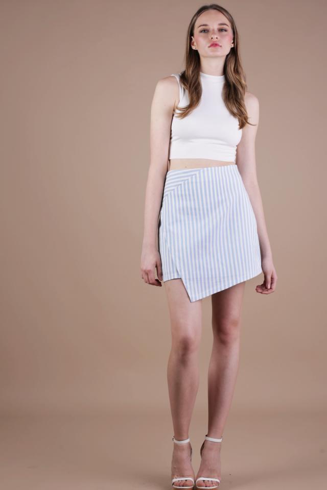 Gram Pelmet Skirt (Light Blue)