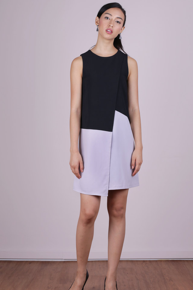 Sofia Shift Dress (Black)