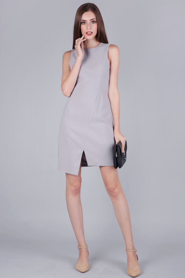 Tuv Shift Dress (Grey)
