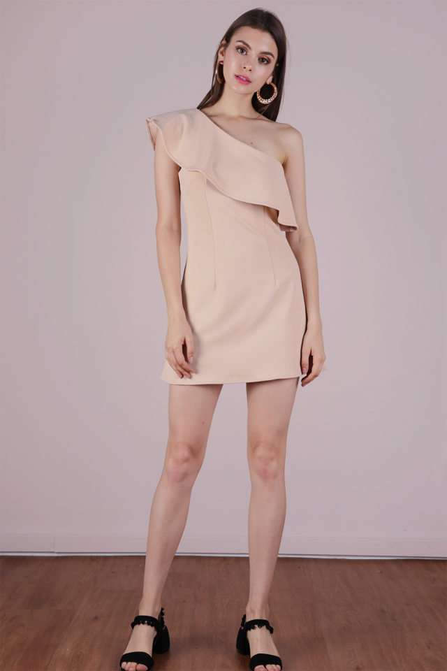 Kina Toga Dress (Nude)