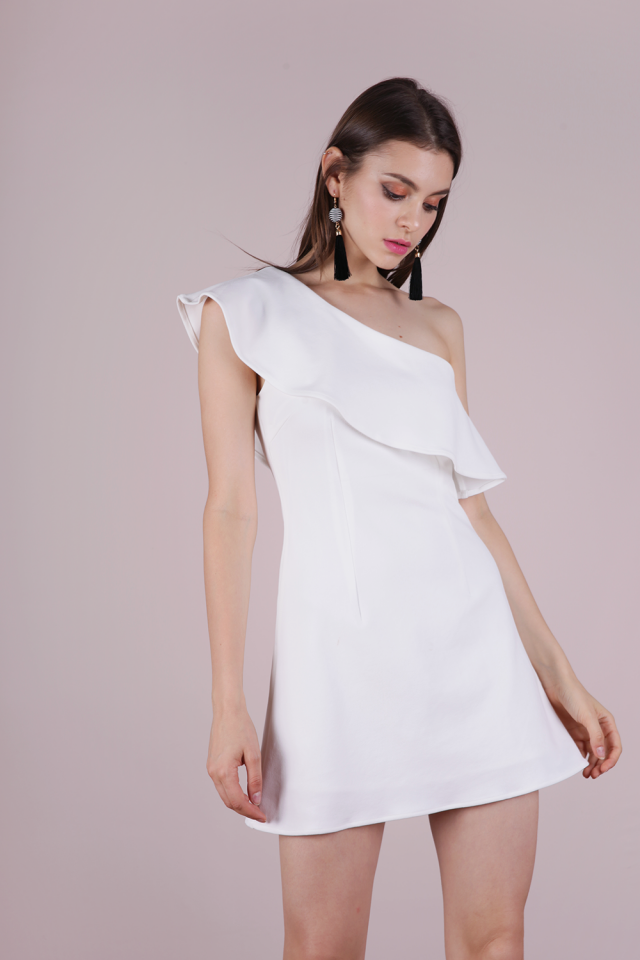 Kina Toga Dress (White)