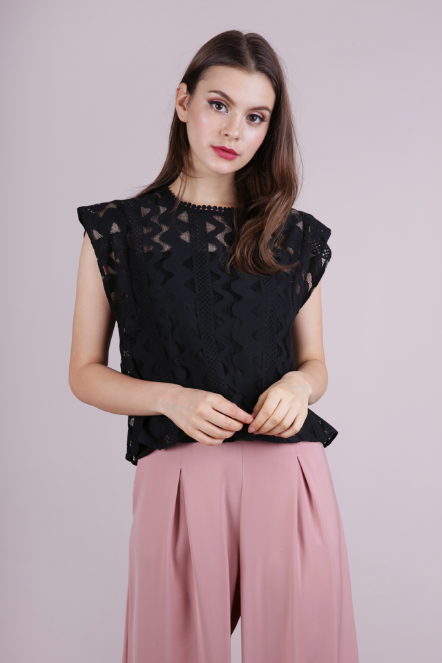 Kimm Lace Top (Black)