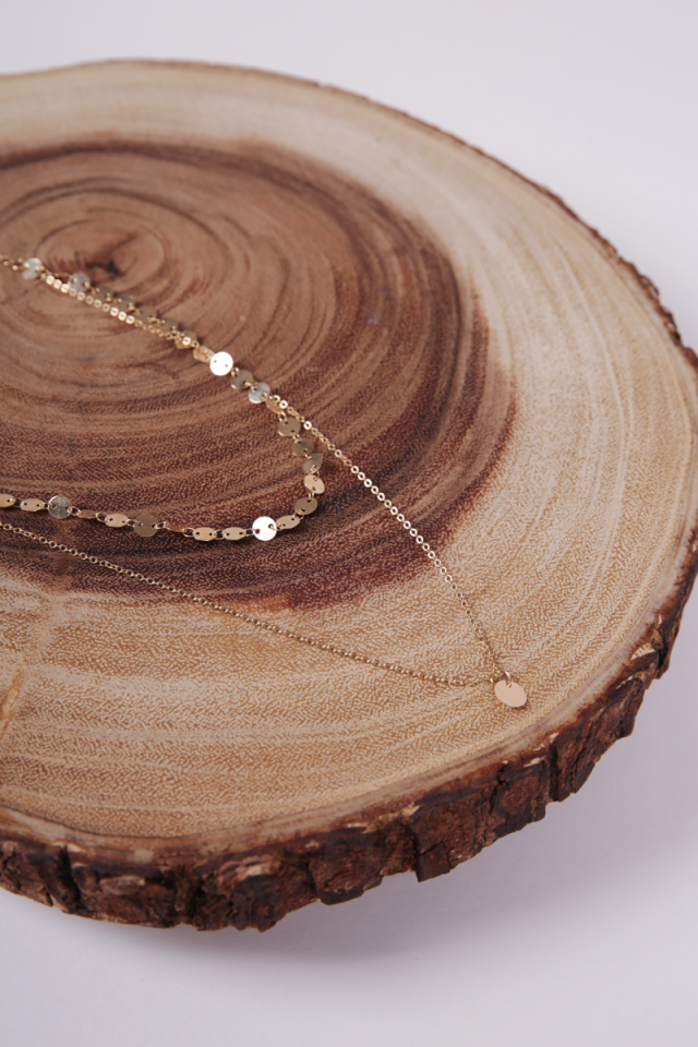 Dio Layered Necklace (Gold)