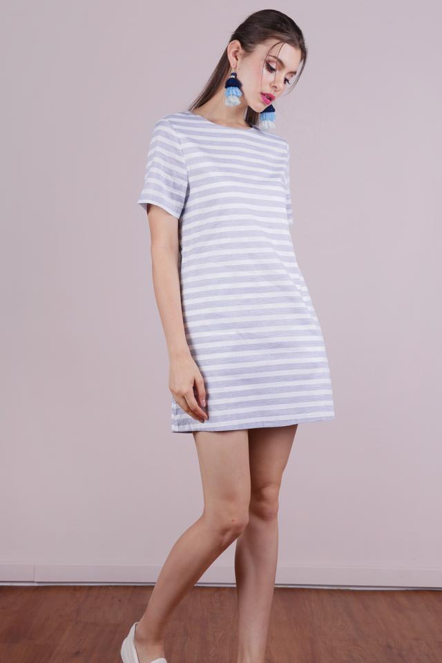 Ellie Tee Dress (Stripes)