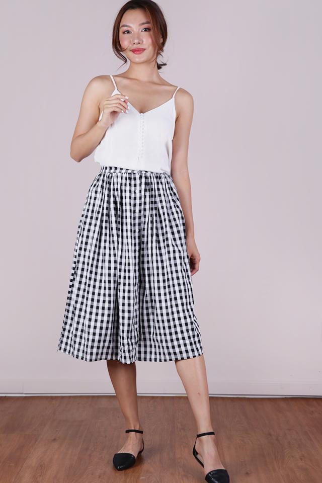 Taylor Midi Skirt (Gingham)