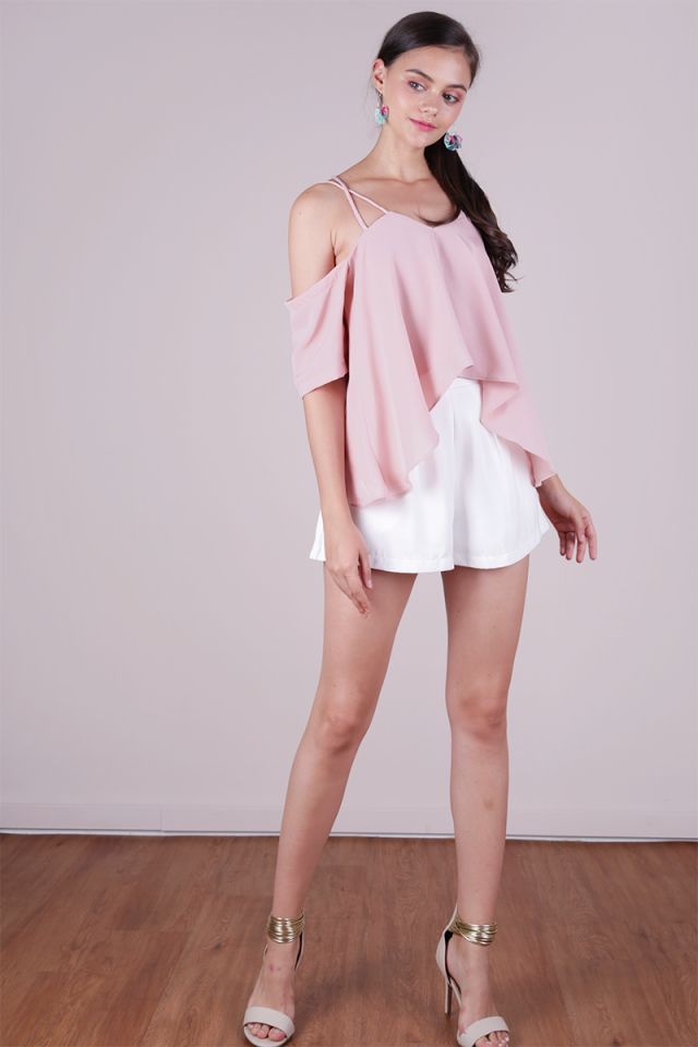 Sonia Double Strap Top (Pale Pink)