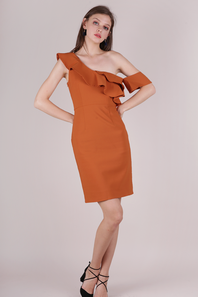 Nars Ruffles Toga Dress (Amber)