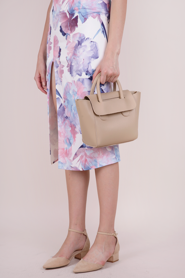 Elora Handbag (Nude)