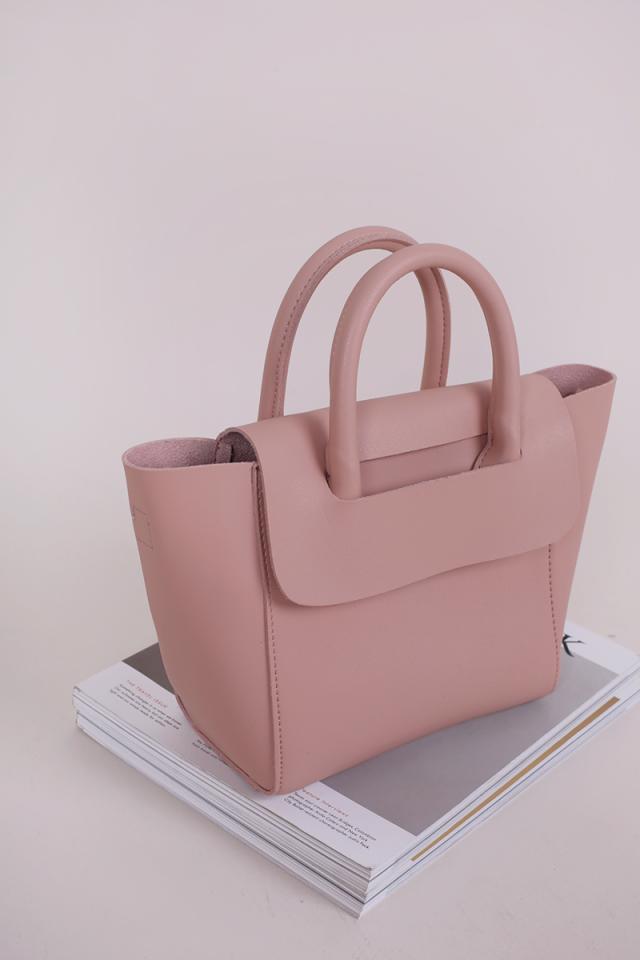 Elora Handbag (Pastel Pink)