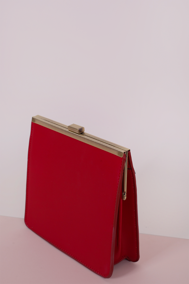 Malis Box Clutch (Red)