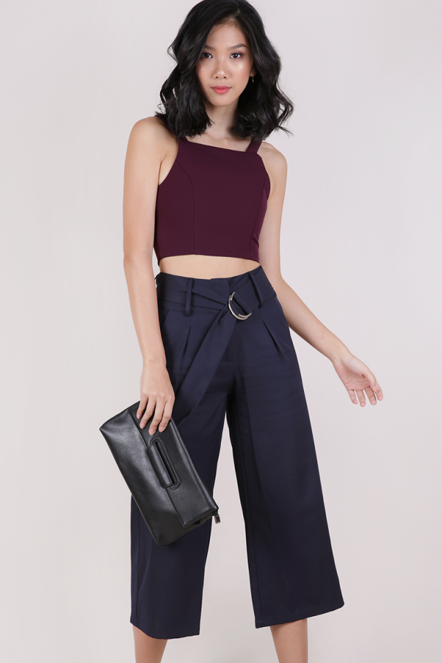 Jenn Ring Culottes (Navy)