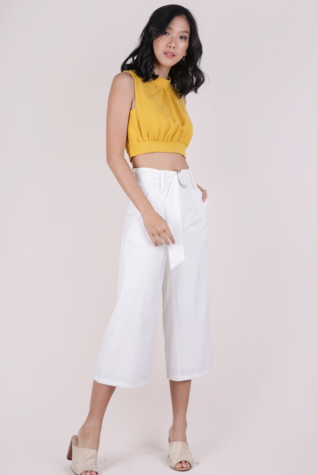 Jenn Ring Culottes (White)