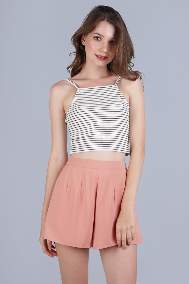 Petal Flare Shorts (Peach Sorbet)