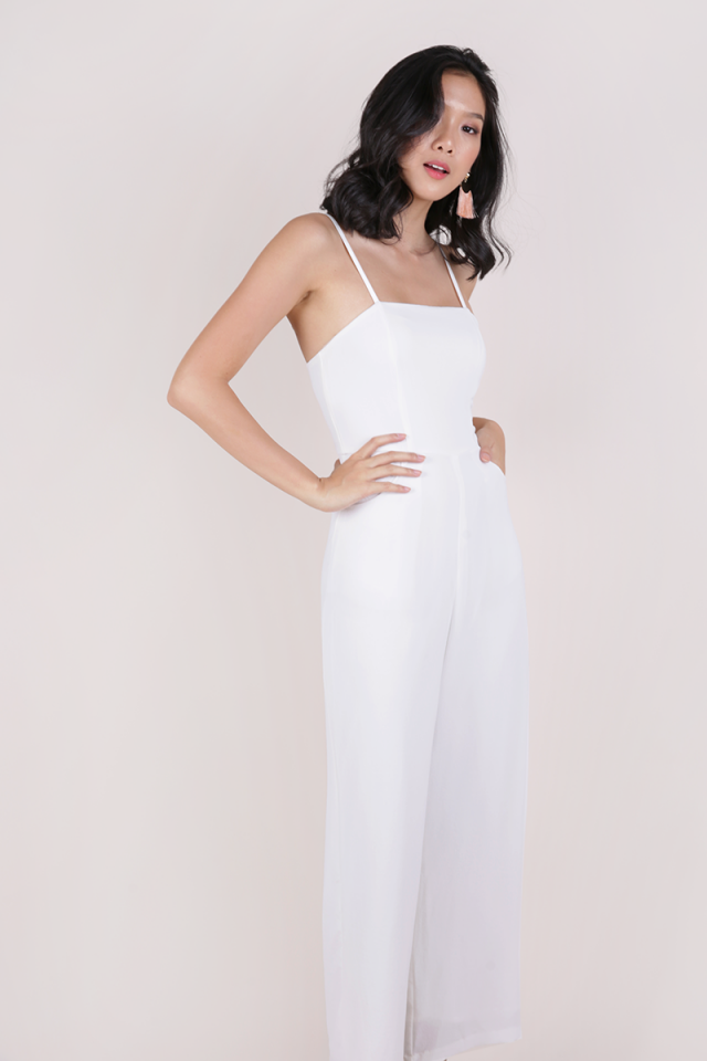 Adelia Jumpsuit (White)