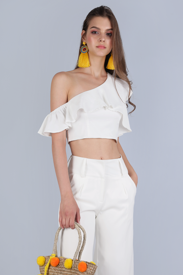 Daria Toga Top (White)