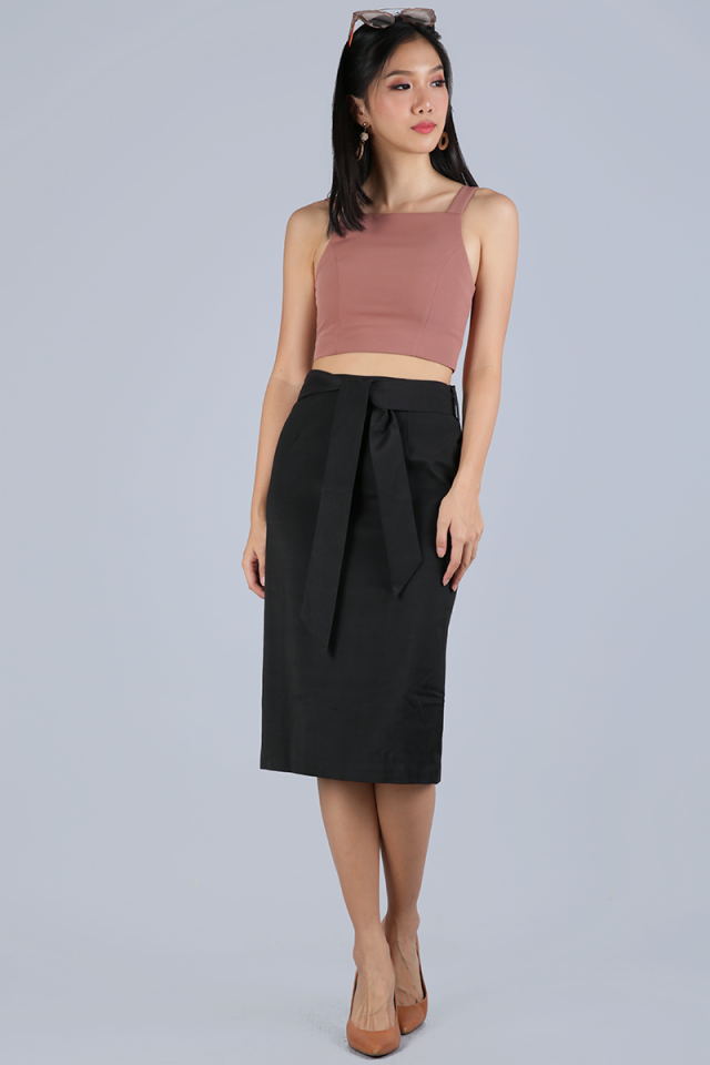 Lyle Pencil Skirt (Black)