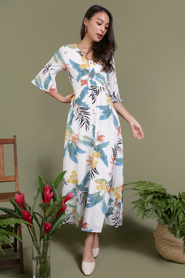 Tammy Maxi Dress (Tropical)