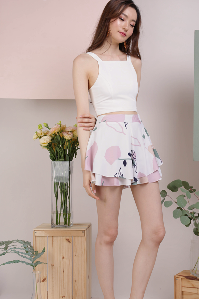 Cassidy Ruffles Shorts (Flourish)