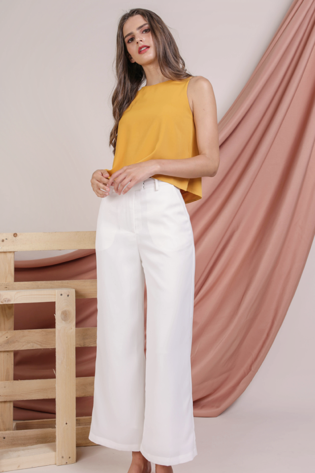 Jodi Tailored Pants (White)