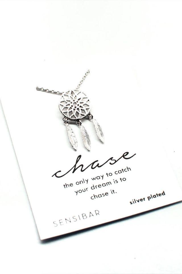 Dreamcatcher Necklace (Silver)