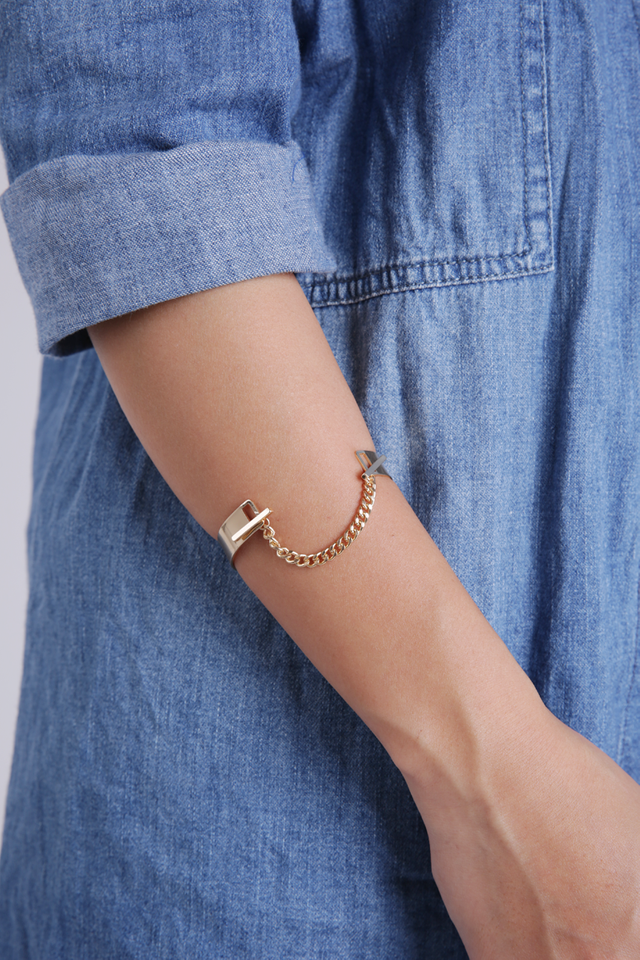 Syne Chain Bracelet (Gold)