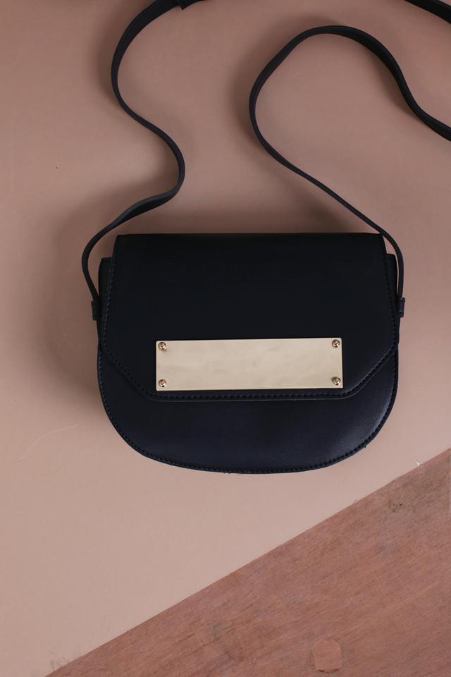 Hayden Crossbody Bag (Black)