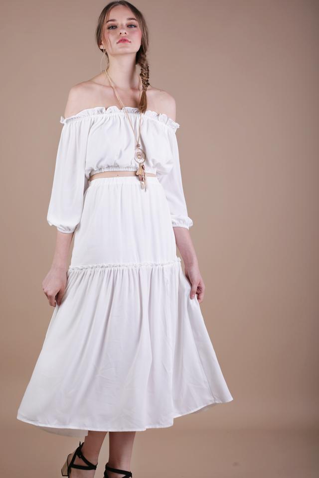 Gracie Skirt (White)