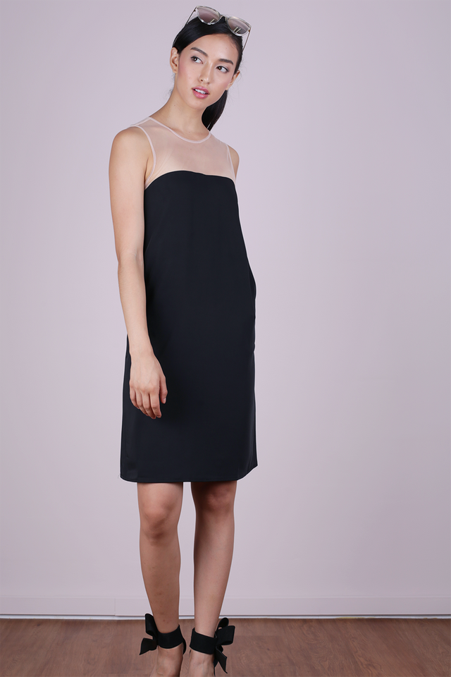 Cel Mesh Dress (Black)