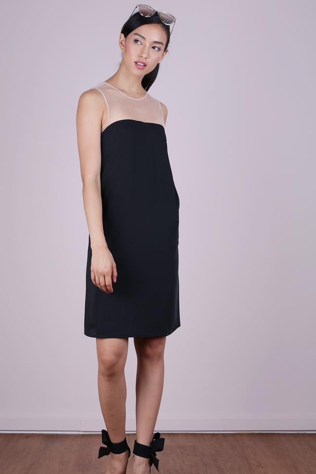 Cel Mesh Dress (Black)