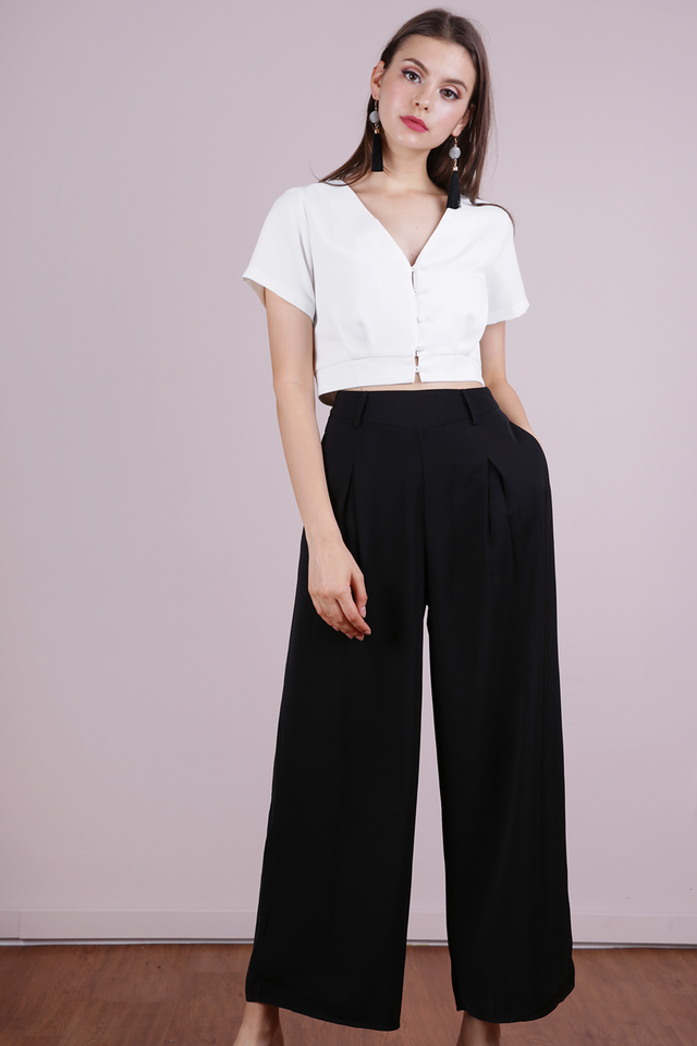 Bondi Flowy Pants (Black)