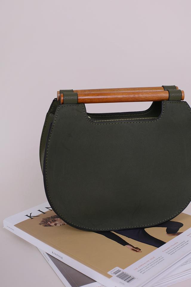 Katya Bamboo Handle Bag