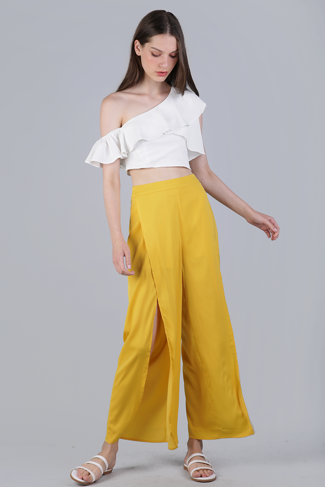 Stradun Split Pants (Yellow)
