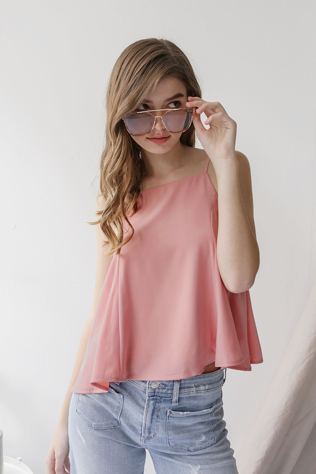Clio Spag Top (Pink)